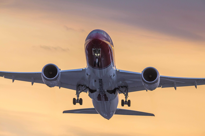 787 Sunset departure-1748