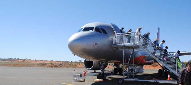 Ayers Rock Airport, the friendliest place on earth?