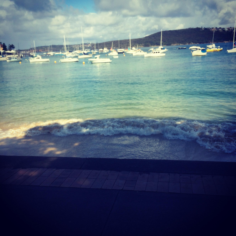 Manly Beach wharfside