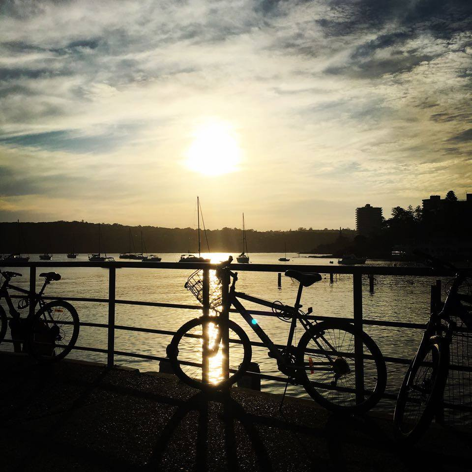 sunset manly wharf