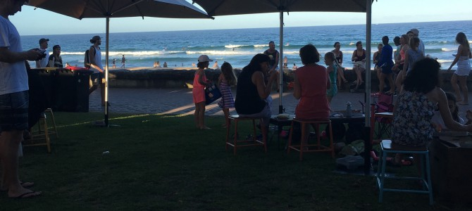 Australian open of surfing.