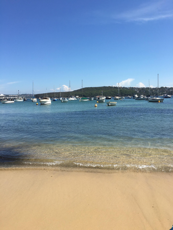 manly beach wharf side