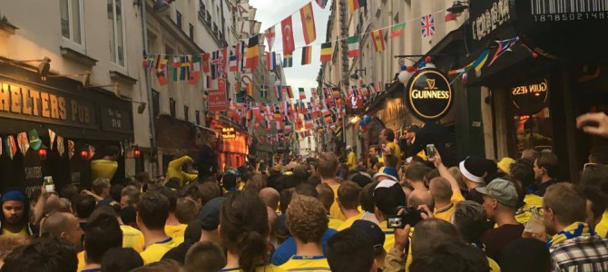 EURO16: Ryanair, Warszaw and Swedish fans.