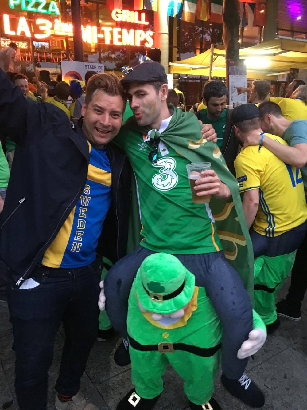 SWE - IRA fans