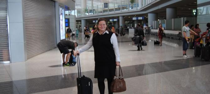 Beijing Airport.
