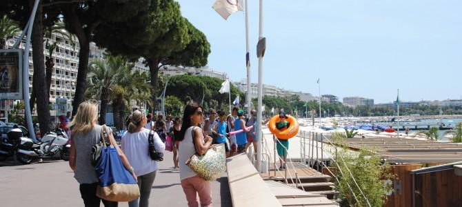 Cannes Beach & La Croisette.