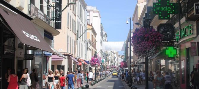 Cannes Vieille Ville, France.