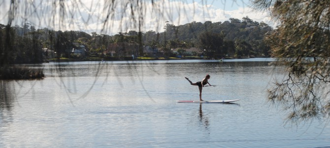 Another northern beaches gem – Narrabeen Lakes.