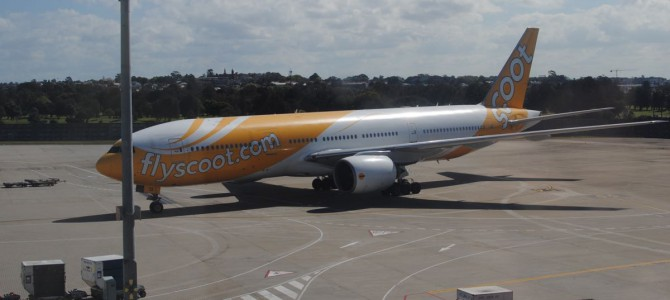 Scoot, another Asian low cost airline.