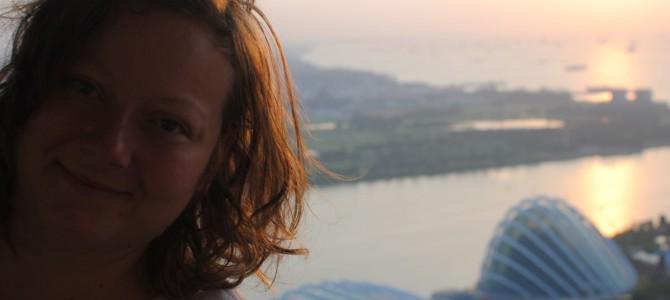Last MBS post, I swear! Gym & sunrise views.