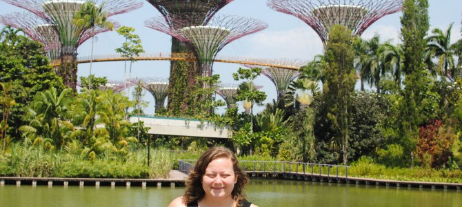 Singapore: Gardens by the bay.