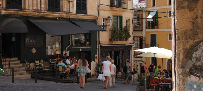 The charm of Palma old city.