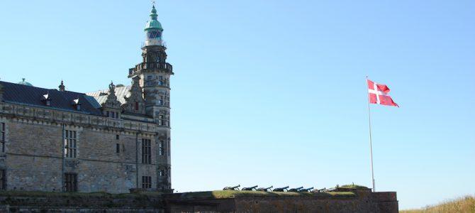Helsingör & a castle in Denmark.