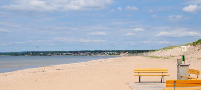 Råbocka Strand / beach.